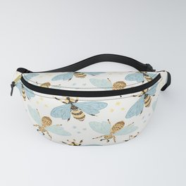 Cute Honey Bee Pattern - Save The Bees Fanny Pack