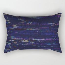 Glitch Art Rectangular Pillow