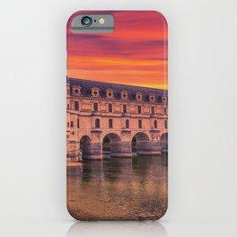 Beautiful Chateau de Chenonceau. iPhone Case