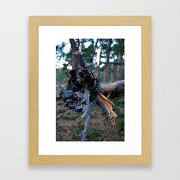 On a Hike Framed Art Print