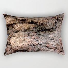 Lava #4 Rectangular Pillow