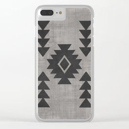 Aztec Tribal Clear iPhone Case