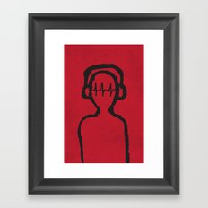 Music Man Framed Art Print