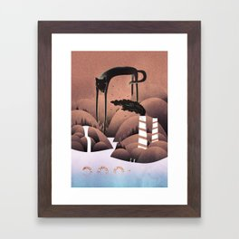 Bad Boy Framed Art Print
