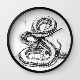 """the triad + 1"" Wall Clock"
