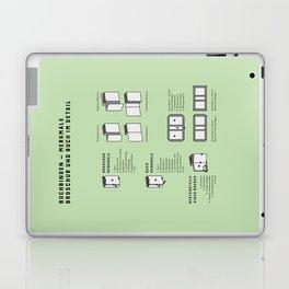 Buchbinden – Merkmale Broschur und Buch im Detail (in German) Laptop & iPad Skin