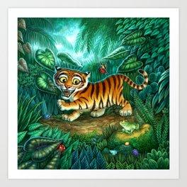 Tiger Stripes Cover Art Print
