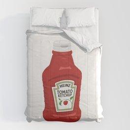 Single Ketchup Bottle Comforters