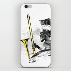 Trombone Warrior iPhone & iPod Skin