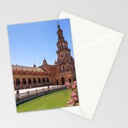 Plaza de España in Seville, Spain Stationery Cards