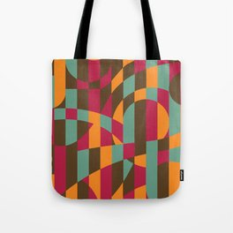 Abstract Graphic Art - Roller Coaster Tote Bag