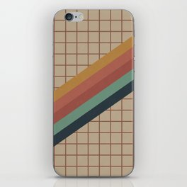 Old Video Cassette Palette iPhone Skin