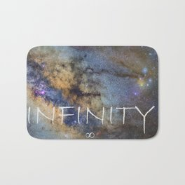 Milky way. Infinity. Scorpius and Sagittarius. Bath Mat