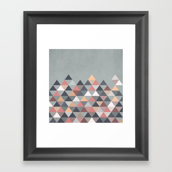 Nordic Combination IV Framed Art Print