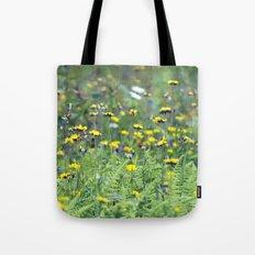 Summer Field Killington Vermont Tote Bag