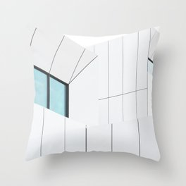 Jameel Arts Centre on Dubai Throw Pillow