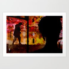 I Walk Alone Art Print