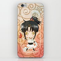 chibi iPhone & iPod Skins featuring Chibi Ashura by Neo Crystal Tokyo
