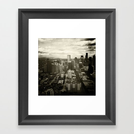 South Side Framed Art Print