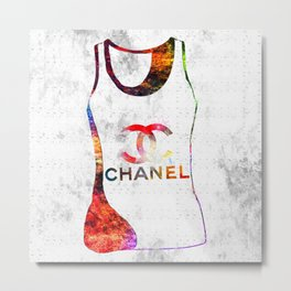 Fashion Shirt Metal Print