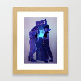Arcade Framed Art Print