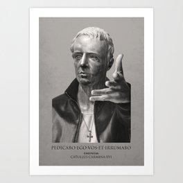 Vanity Fair Poster: If Catullus was a rapper Art Print