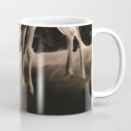 Doe And Fawn At Night Coffee Mug
