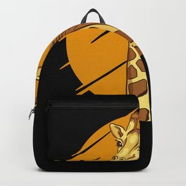 Giraffe Giraffes Gift Idea Backpack