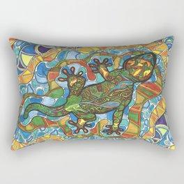 Lizard Island Rectangular Pillow