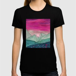 Lines in the mountains XIV T-shirt