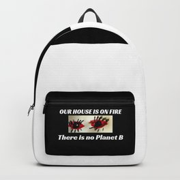 Climate Change Action - Our House is on Fire Backpack