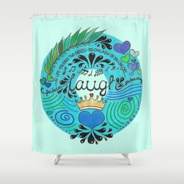Laugh Shower Curtain