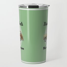 Vintage Wheels: Mercury Wagon (black) Travel Mug