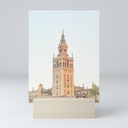 Seville II [ Andalusia, Spain ] Cathedral Santa Maria tower⎪Colorful travel photography Poster Mini Art Print