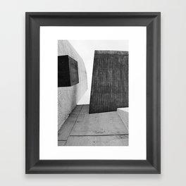 Ronchamp | Notre Dame du Haut chapel | Le Corbusier architect Framed Art Print
