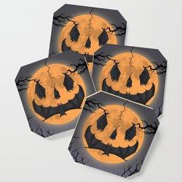 Halloween Moon Coaster