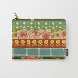 colourful flowers Carry-All Pouch