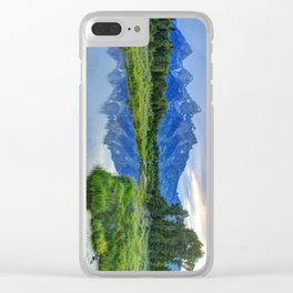 Schwabacher Landing - Grand Teton National Park Clear iPhone Case
