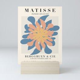 Exhibition poster Henri Matisse-Berggruen  1953.  Mini Art Print