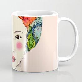lotus girl Coffee Mug