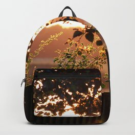 Sunset Through The Trees Backpack