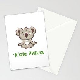'A'ole Pilikia Zen Koala Stationery Cards