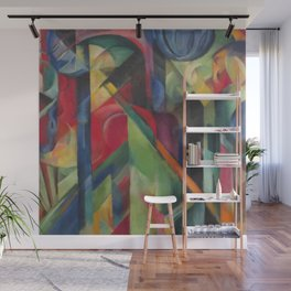 """Franz Marc """"Stables"""" Wall Mural"""