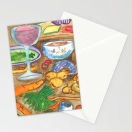 Making Goulash Stationery Cards