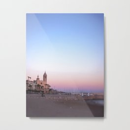 Goodnight from Sitges Metal Print