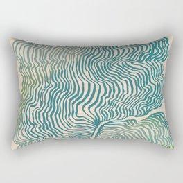 Summer Currents Rectangular Pillow