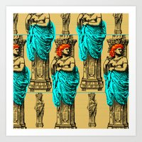 antique Art Prints featuring Antique by CottonMouth