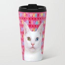 Love Kitten Valentine's Day Travel Mug