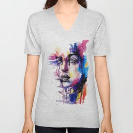Colored soul Unisex V-Neck