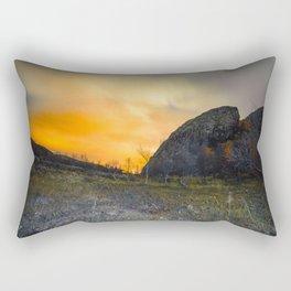 Arctic night Rectangular Pillow